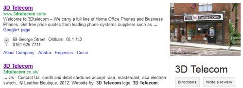 3D Telecom in Oldham