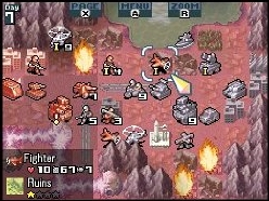 Advance Wars screen
