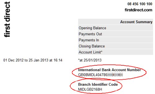 iban number lloyds bank