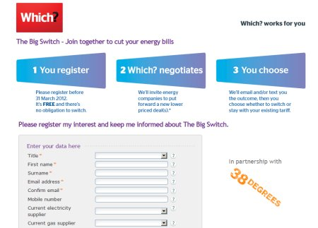 Signing Up to The Which Big Switch